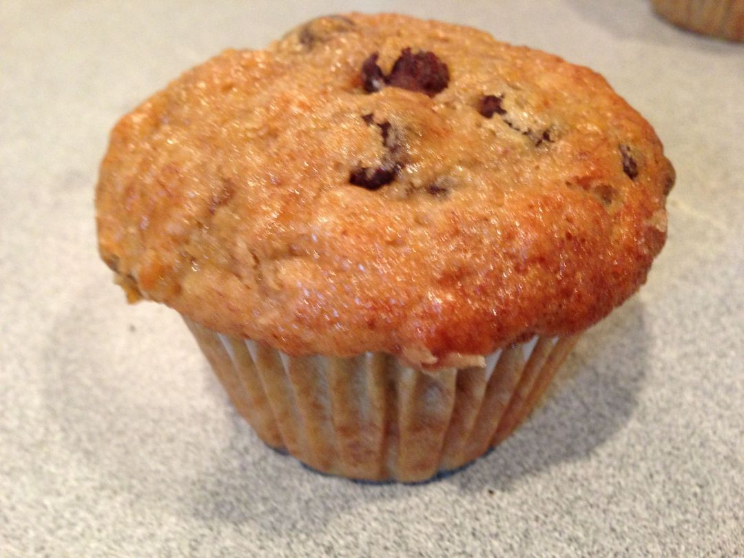 Banana Chocolate Chip Muffin by Robert Deutsch