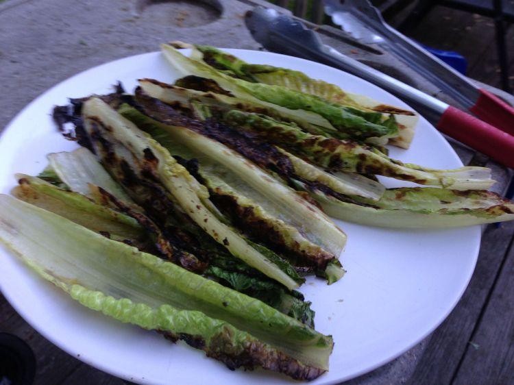4th of July, Robert Deutsch, Grilled Lettuce
