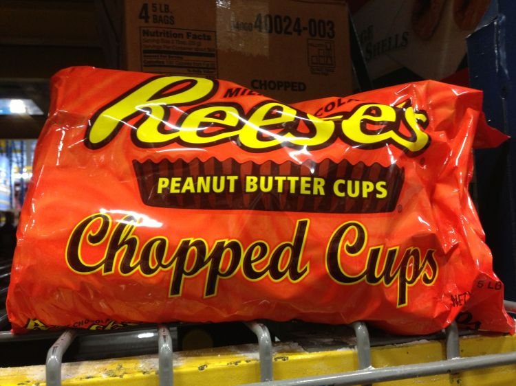 Reese's Peanut Butter Cups Huge Bag of Chopped Candies