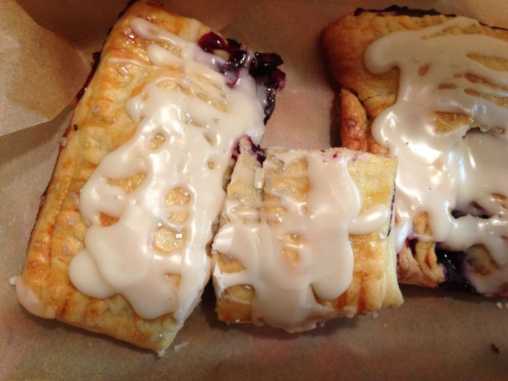 Frosted Pastry, Pop-Tarts, Toaster Pastry, robertdeutschBlueberry Filling, Blueberry Toaster Pastry