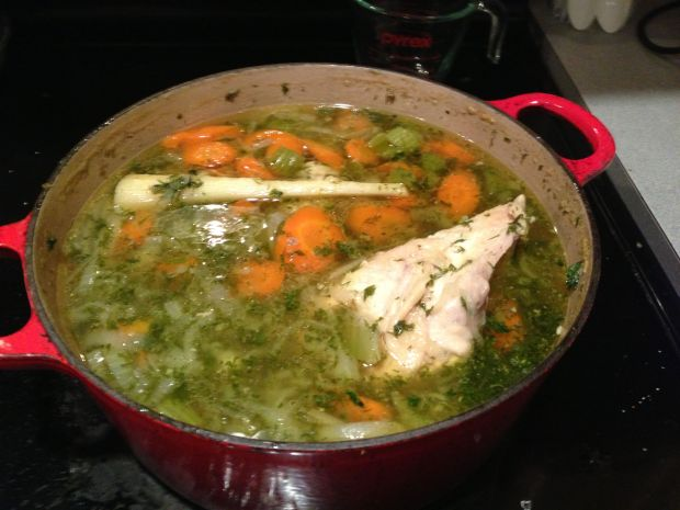 Chicken soup, Grandma's chicken soup, Sylvia's Chicken Soup, Jewish Penicillin
