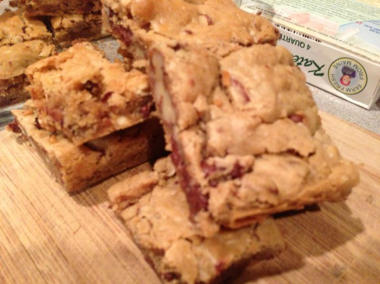 Blondie Recipe from Cook's Illustrated,  Chocolate Chips, Perfect Blondie Recipe, Bake Sale Idea, Sheet Pan Cakes