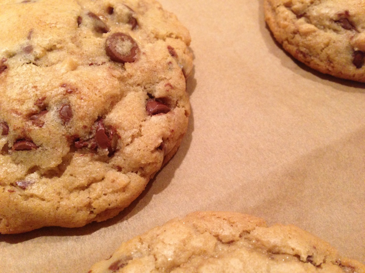 Sublime Chocolate Chip Cookies
