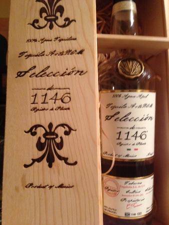 My favorite tequila, ArteNOM 1146.