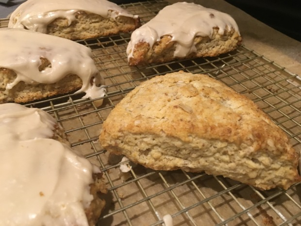 Maple Pecan Oatmeal Scones